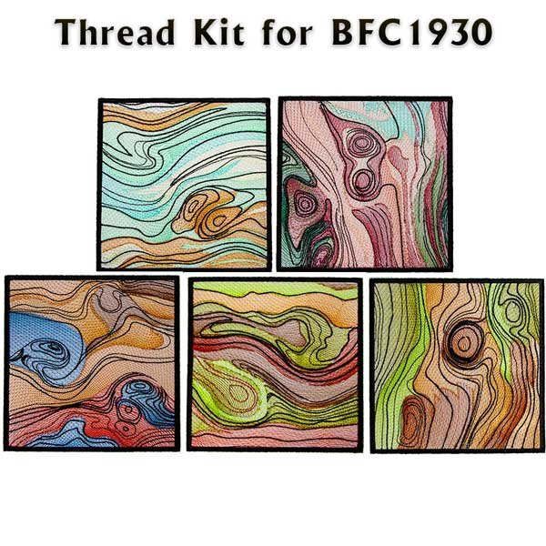 BFC1930 Earth Tone Quilt Blocks Thread Kit