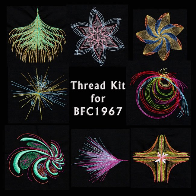 BFC1967 Light and Airy Fractals Thread Kit