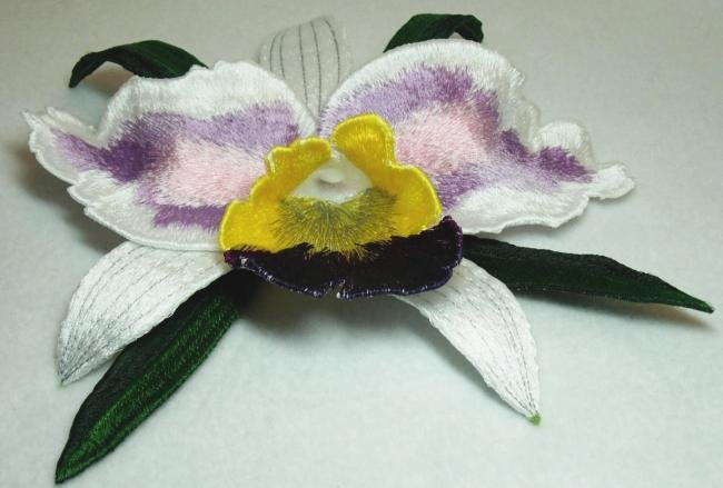 BFC0208 Lace Sculpture - Cattleya Orchid