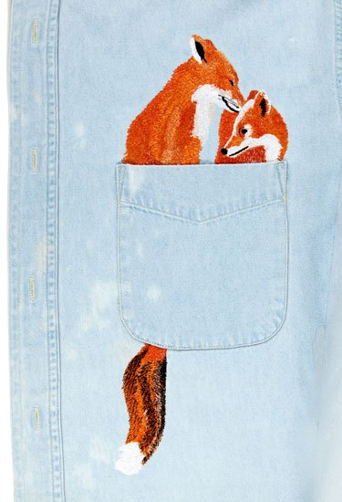 Two Foxes Pocket Topper