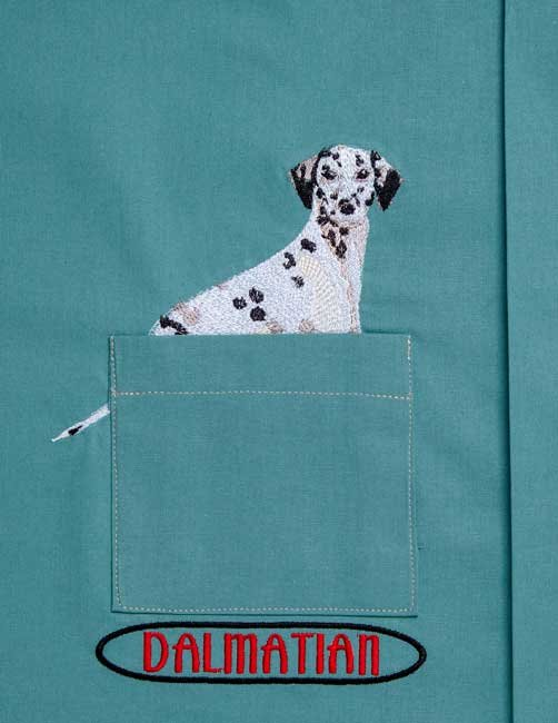 BFC31393 Dalmatian Pocket Topper