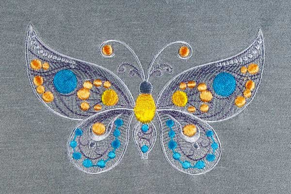 Jeweled Butterfly
