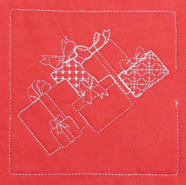 BFC0354 Christmas Quiltables