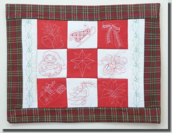 BFC0355 Christmas Quiltable Borders