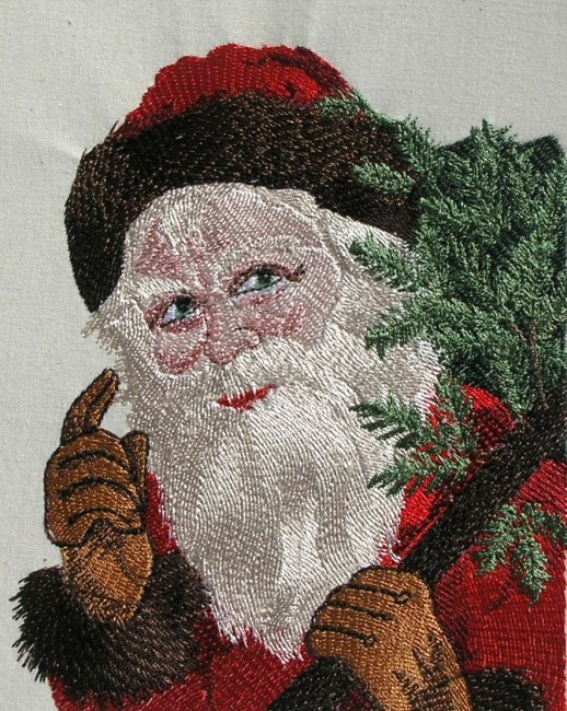BFC0365 Victorian Santa Collection