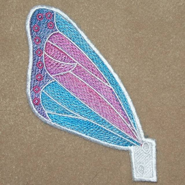 BFC0377 Lace Sculpture 3D Butterflies
