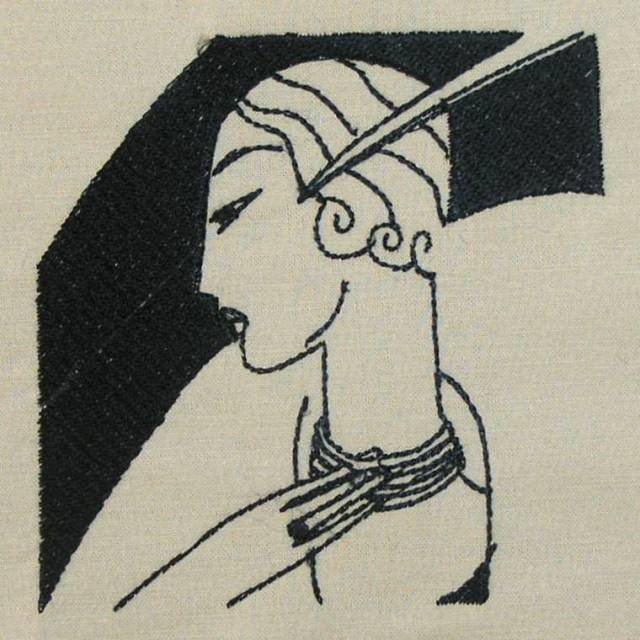 BFC0380 Art Deco Ladies
