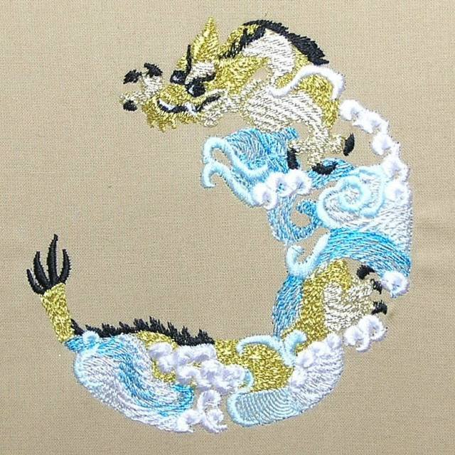BFC0395 Japanese Dragons