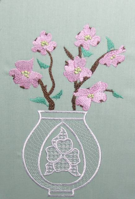 BFC0428 Lacy Vases