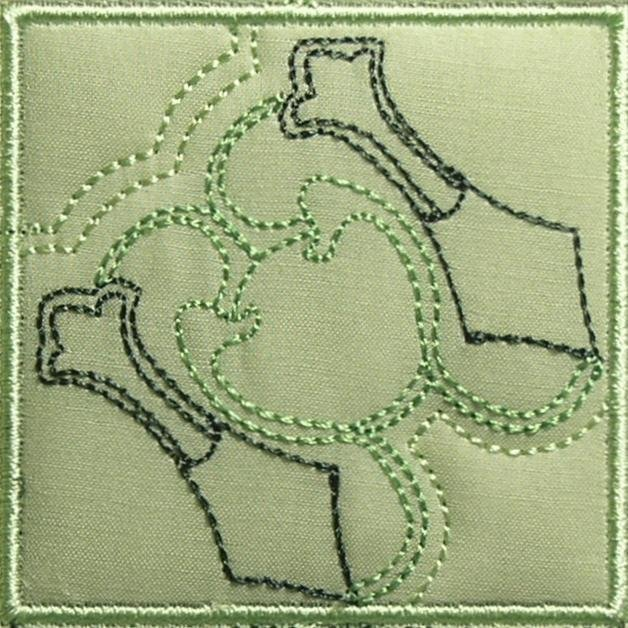 BFC0467 Art Nouveau Quilt in the Hoop II