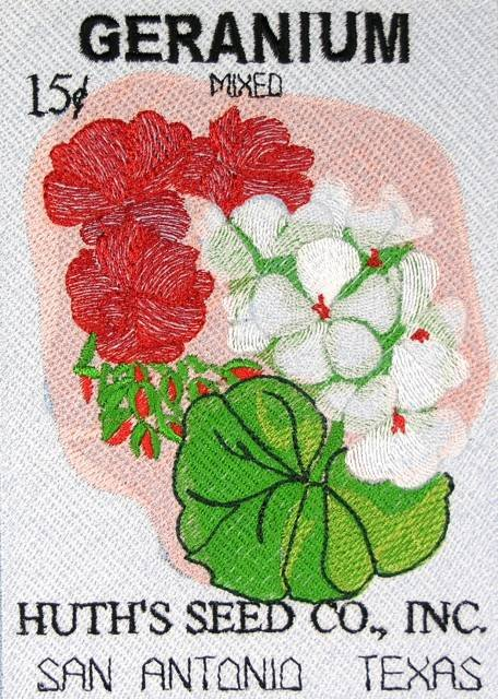 BFC0483 Seed Packets - Flowers 05