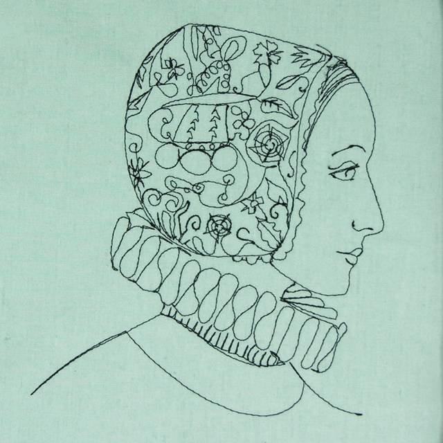 Bfc0510 Elizabethan Ladies In Hats