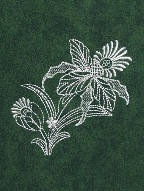 BFC0549 Floral Gardens Lace