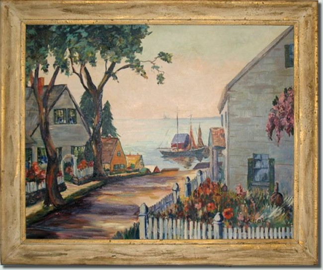 BFC0586 Window - New England Charm