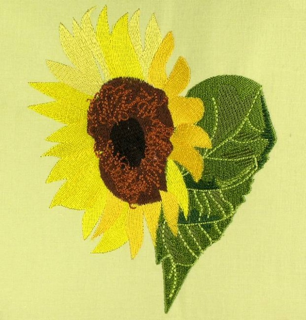 BFC0603 Sunflowers and Finches Designs