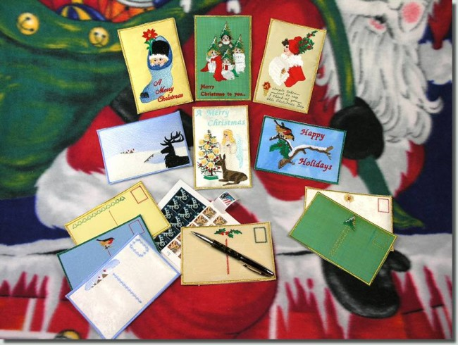 BFC0611 Postcards-Christmas