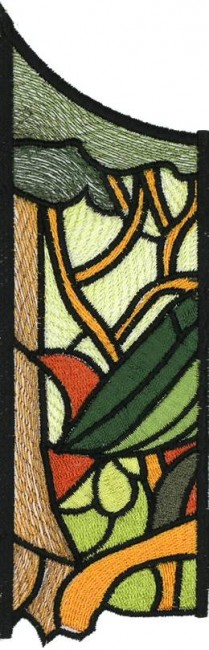 BFC0629 Stained Glass-Parrot