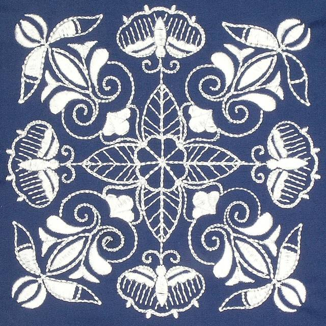 BFC0638 Chinese Indigo - Quilt Blocks II