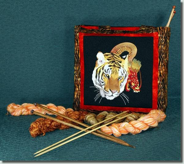 BFC0704 A Large Tiger and Dragon