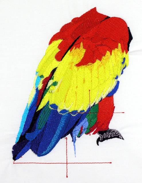 BFC0718 Large Scarlet Macaw