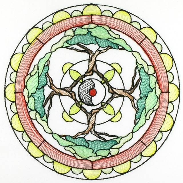 BFC0800 Stained Glass Mandalas