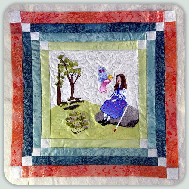 BFC0802 Block 6 of 12 Fairy Land Quilt - The Healing Fairy