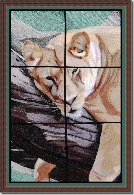 BFC0818 Lion Series-Lioness-A Difficult Life