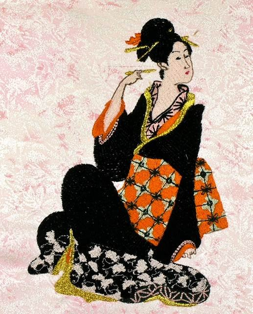 BFC0834 Lovely Geisha Series - Set I