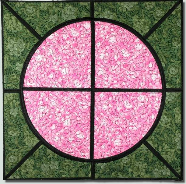 BFC0841 QIH Rose Tile