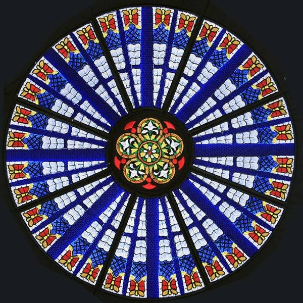 BFC0879 QIH and Regular Rose Window