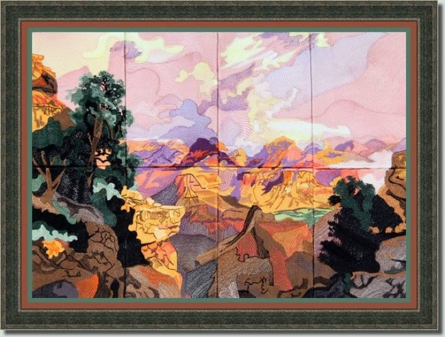 BFC0888 Colors of the West Series The Grand Canyon