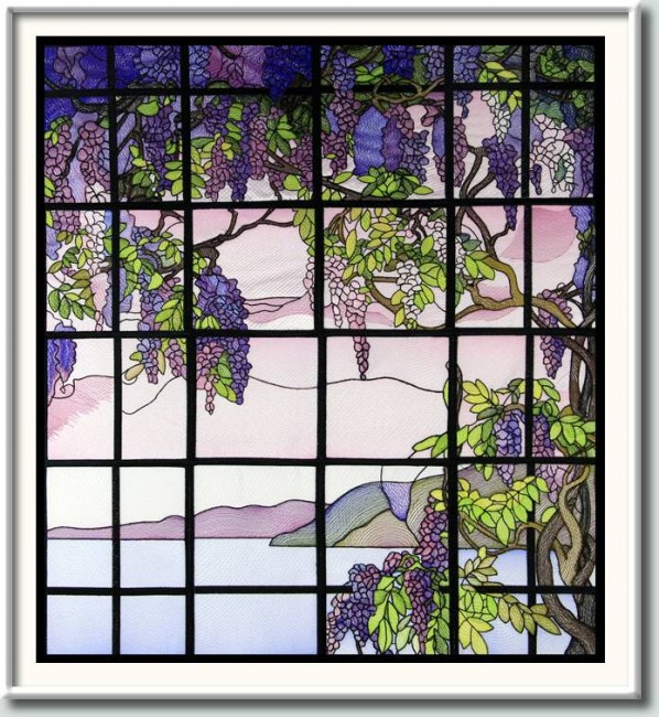 BFC0890 QIH Stained Glass - Wisteria Thread Kit