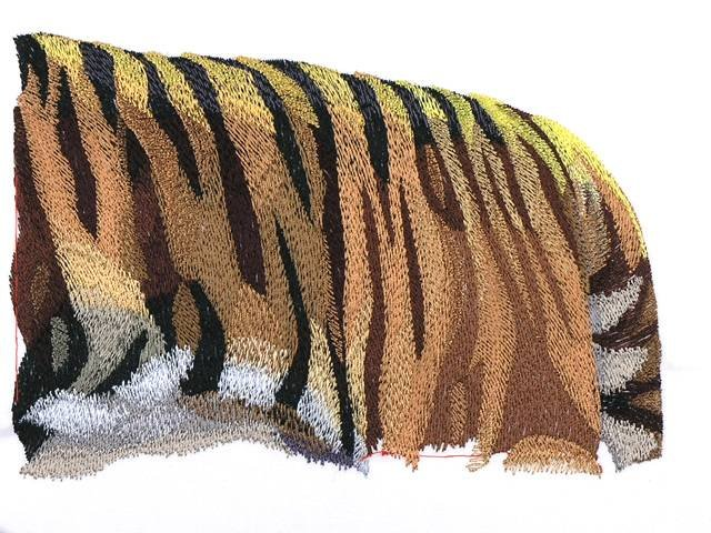 BFC0993 Large Standing Tiger