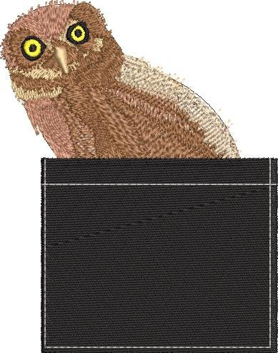 Owl Pocket Topper