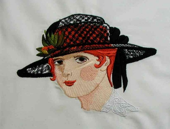 BFC0144 Ladies in Hats