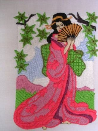 BFC0115  Geisha Set Two -The Hanamachi (Place to Meet Geishas)