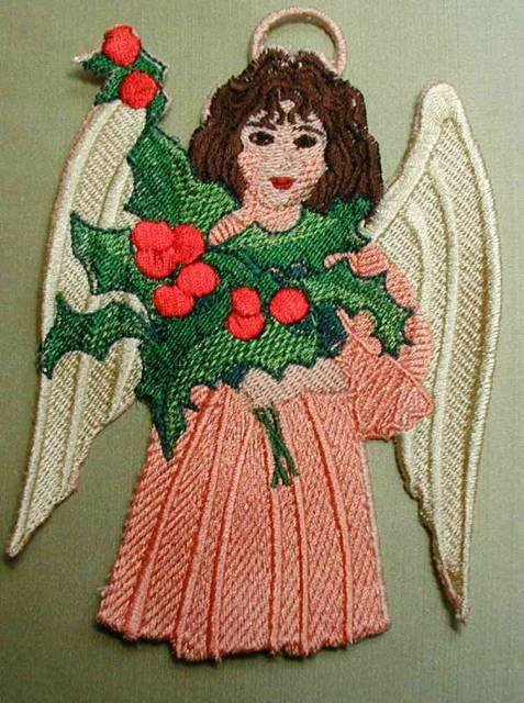 BFC0152  Free Standing Victorian Angel Ornaments