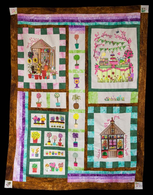 BFC1646 Gardening Quilt Collection - Quilt Blocks