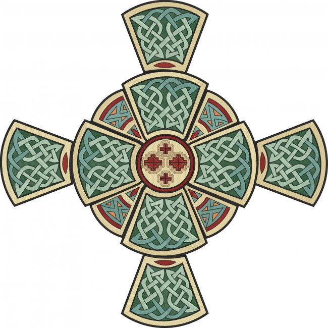 BFC1748 Celtic Cross with Options
