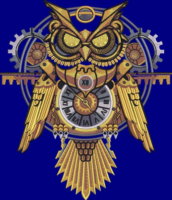 BFC1872 Noble Steampunk Owl