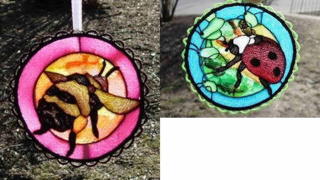BFC0272 Stained Glass Sun Catchers